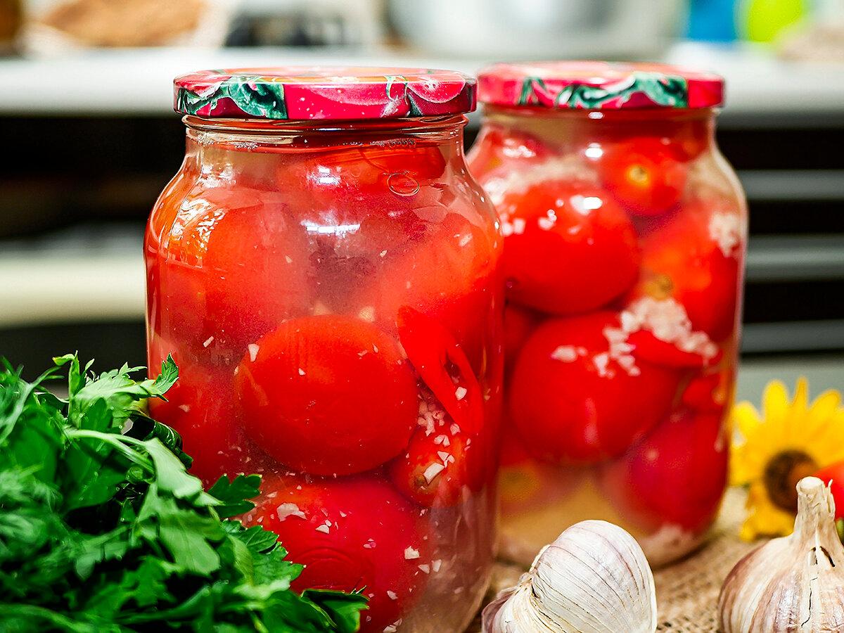 Закуска из помидор на зиму - консервируем дома: рецепт с фото и видео