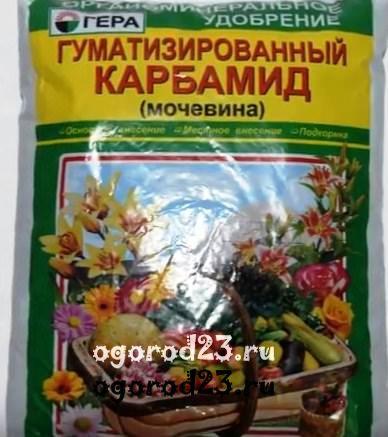 Мочевина удобрение: что это и применение на огороде