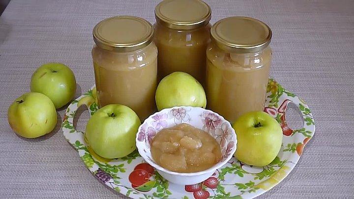 Яблочное пюре на зиму: рецепт для приготовления в домашних условиях
