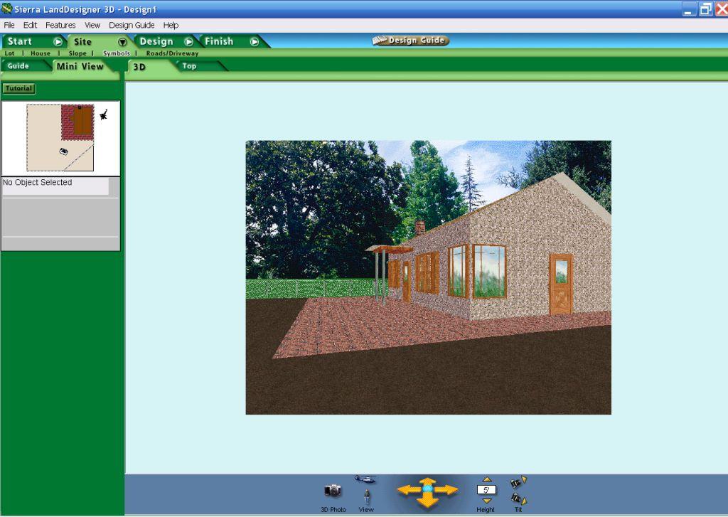 Программа для дачного проектирования sierra land designer 3d 7.0 - дачник