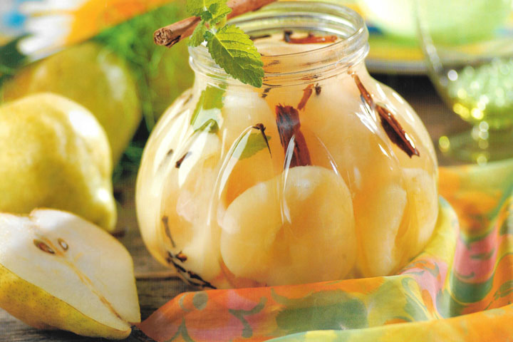 Варенье из груши дольками с лимоном