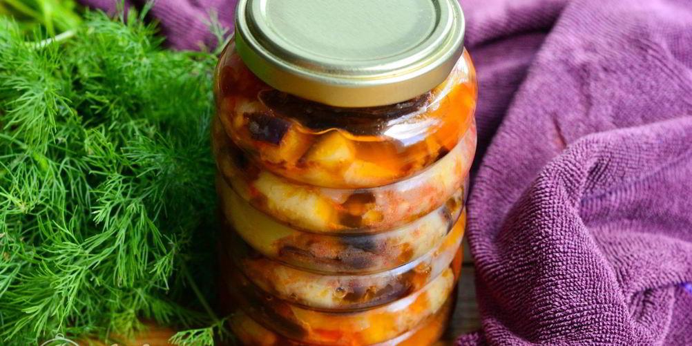 Домашние простые заготовки из баклажанов на зиму: лучшие рецепты баклажанной икры, закусок и салатов из баклажанов с помидорами, перцем и чесноком с фото и видео