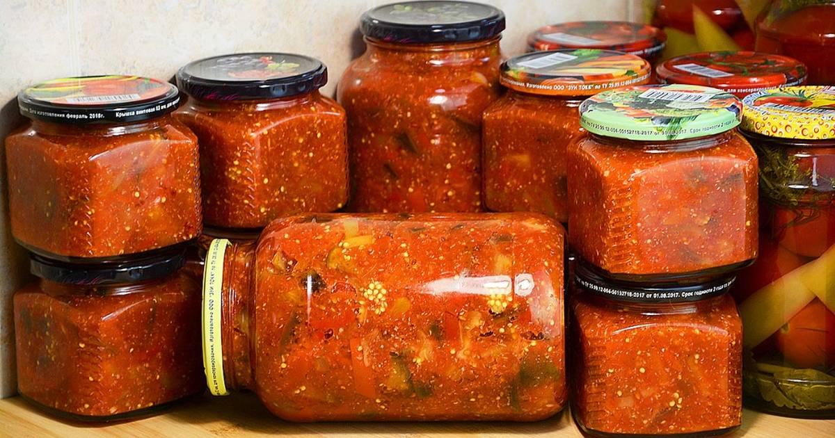 Баклажаны по-татарски на зиму: рецепты и особенности приготовления
