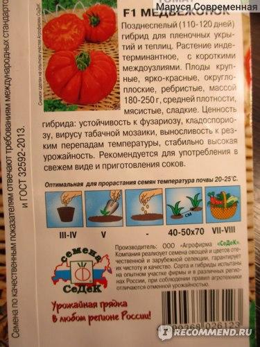 Описание, характеристика, посев на рассаду, подкормка, урожайность, фото, видео и самые распространенные болезни томатов сорта «ледник f1».