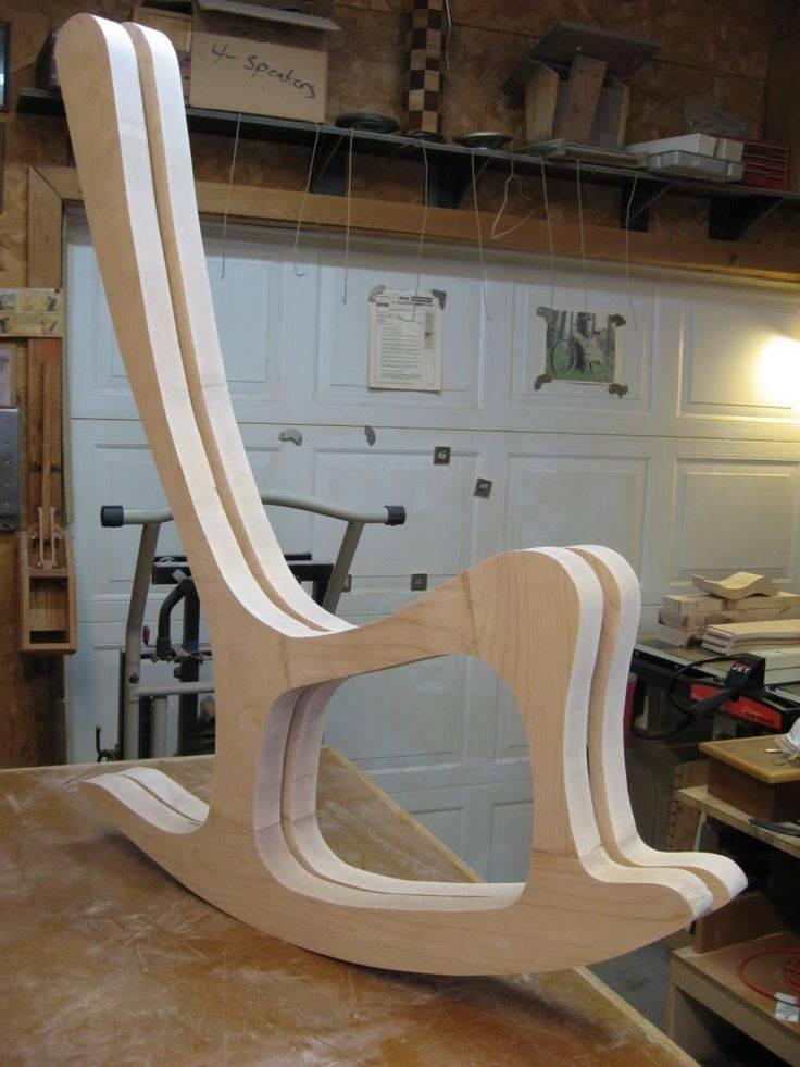 Кресло качалка своими руками из дерева: виды кресел, ход работы, фото и чертежи