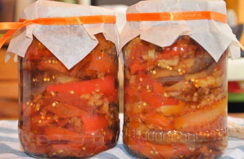 Домашние простые заготовки из баклажанов на зиму: лучшие рецепты баклажанной икры, закусок и салатов из баклажанов с помидорами, перцем и чесноком с фото и видео | qulady