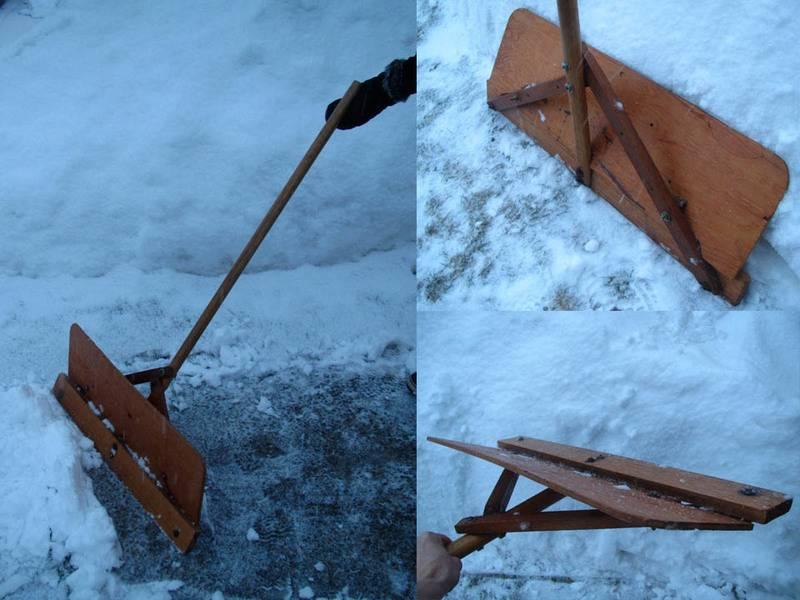 Как сделать лопату для уборки снега своими руками: пошаговое руководство