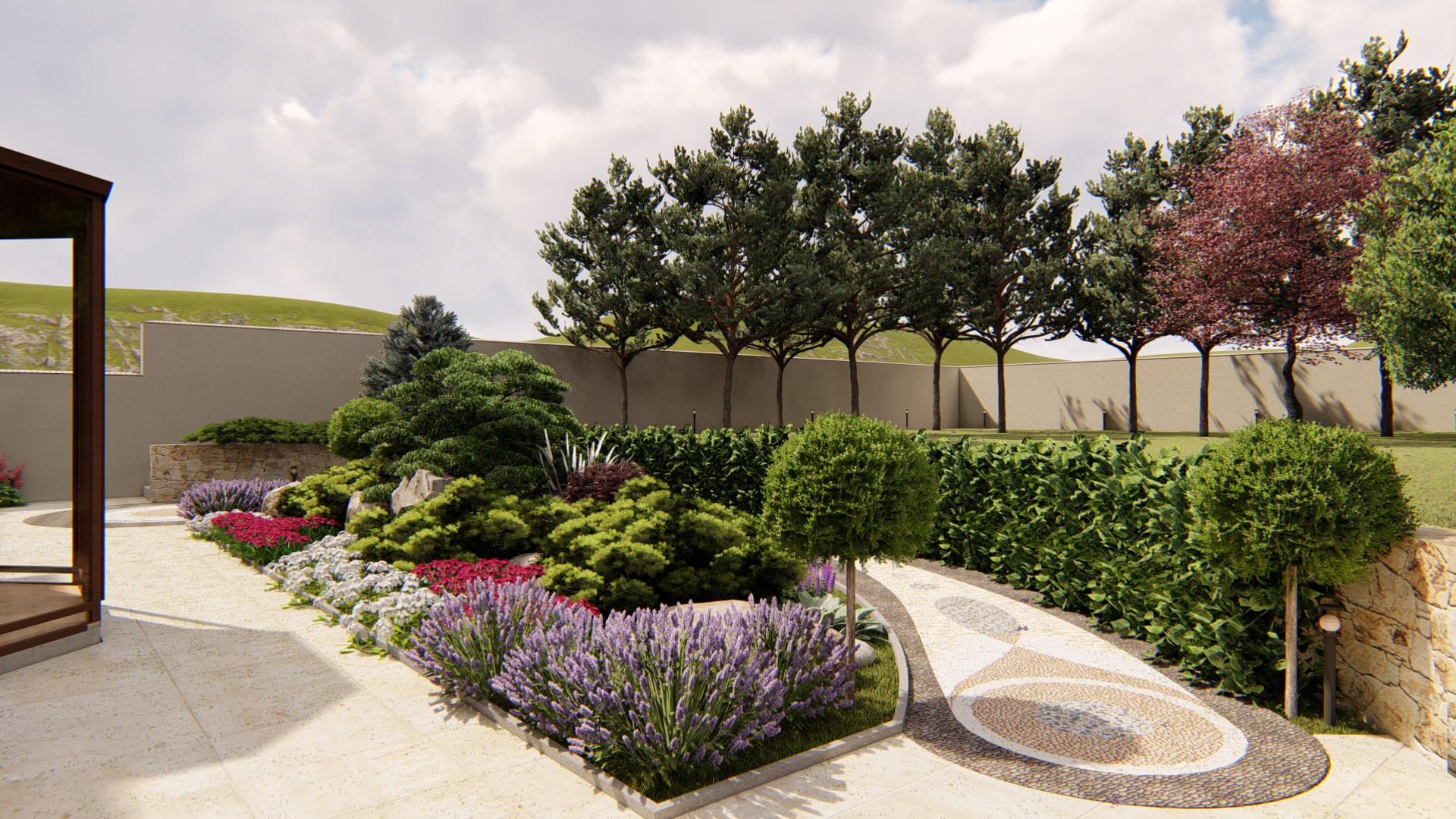 Ландшафтный дизайн маленького сада: красивые идеи оформления