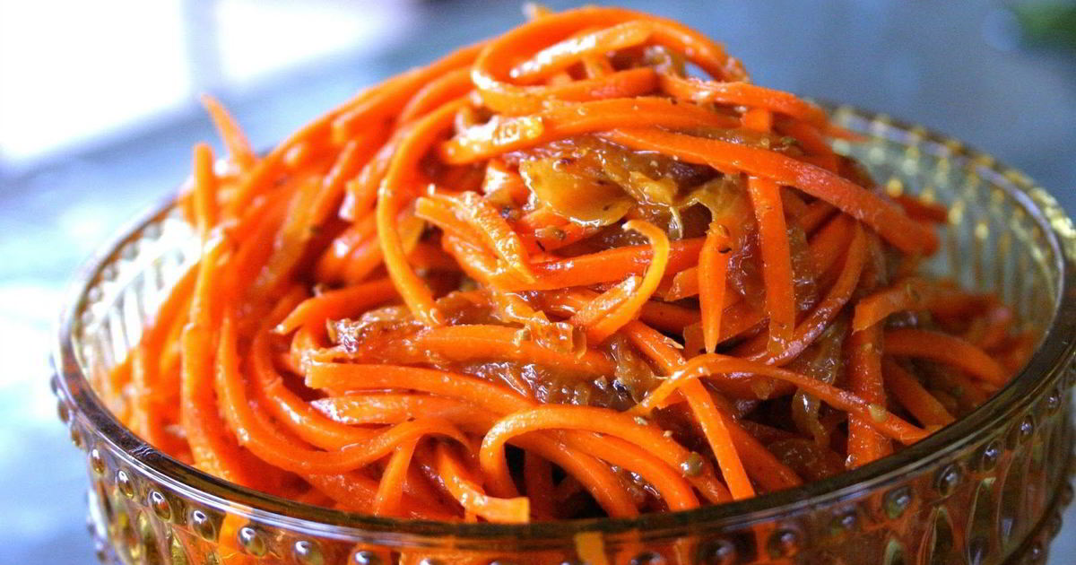 Морковь по-корейски в домашних условиях: 5 рецептов с фото