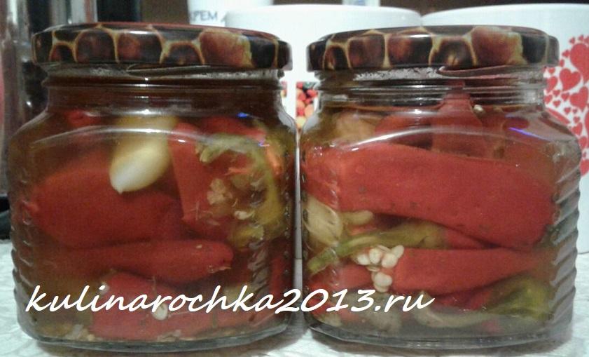 Проверенные и простые рецепты маринованного на зиму перца в масле с разными добавками