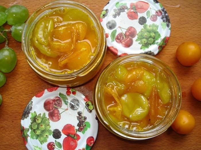 Заготовки из алычи на зиму: топ- 5 рецептов