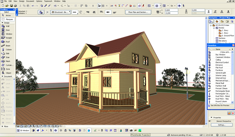 ArchiChad 23: создавай дачные проекты самостоятельно