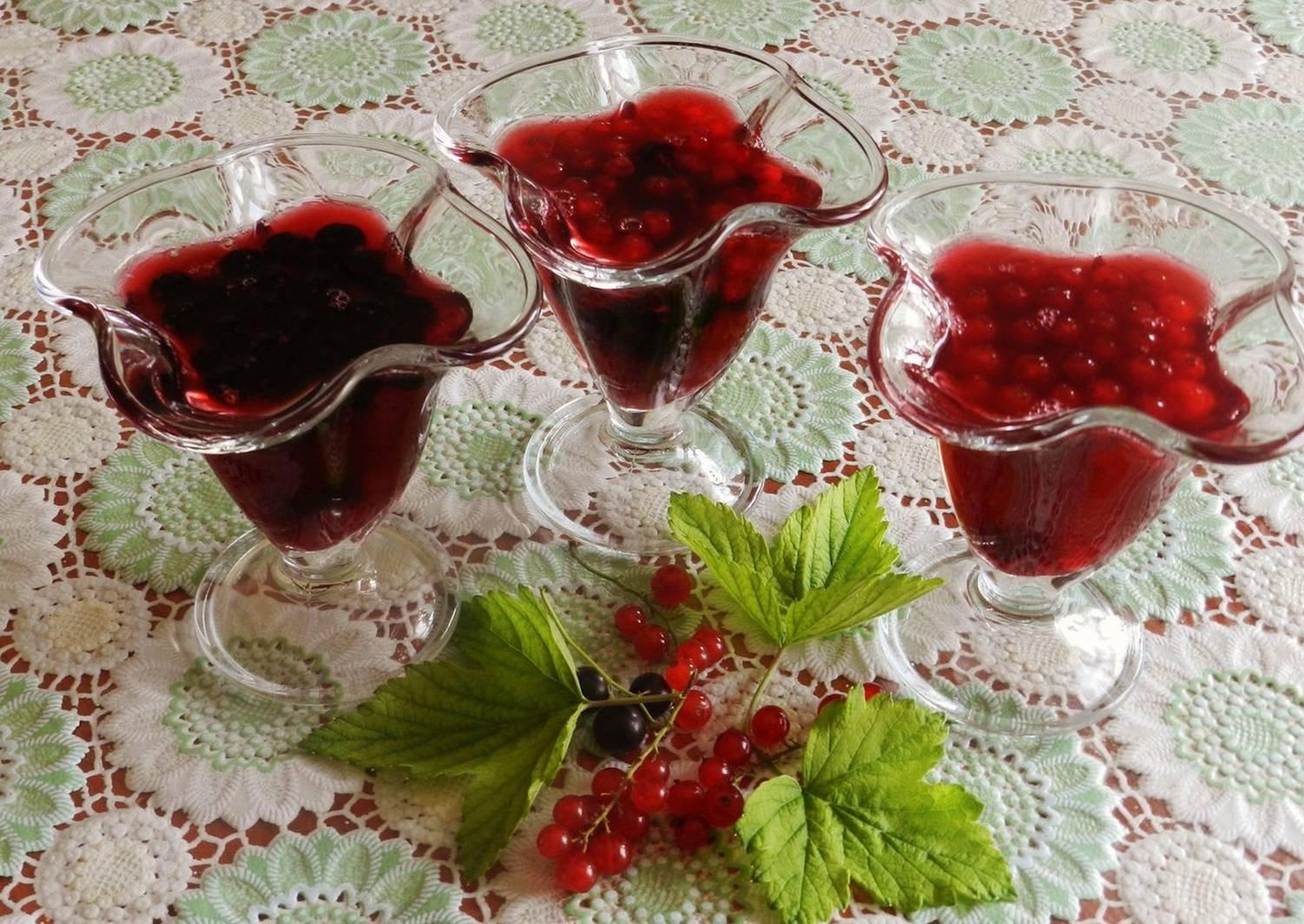 Готовим желе из ягод