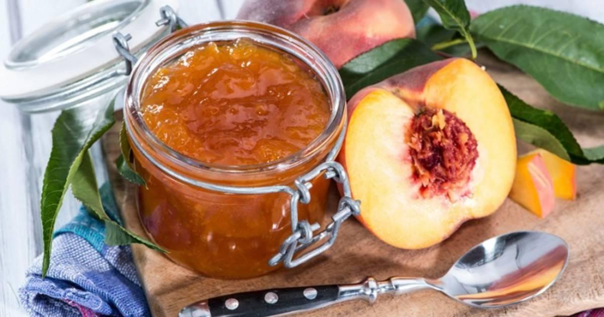 Варенье из персиков - 8 простых рецептов персикового варенья на зиму