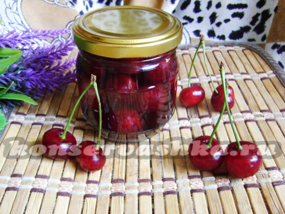 Желе из вишни на зиму: простой рецепт пошагового приготовления консервации
