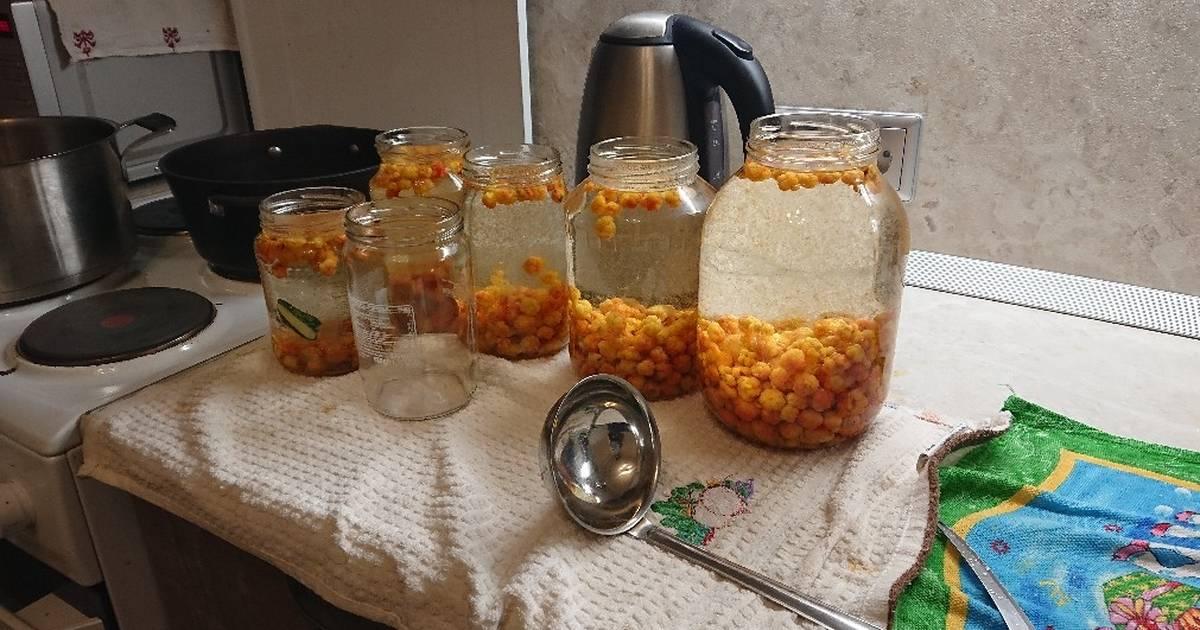 Как приготовить компот из морошки на зиму по пошаговому рецепту с фото