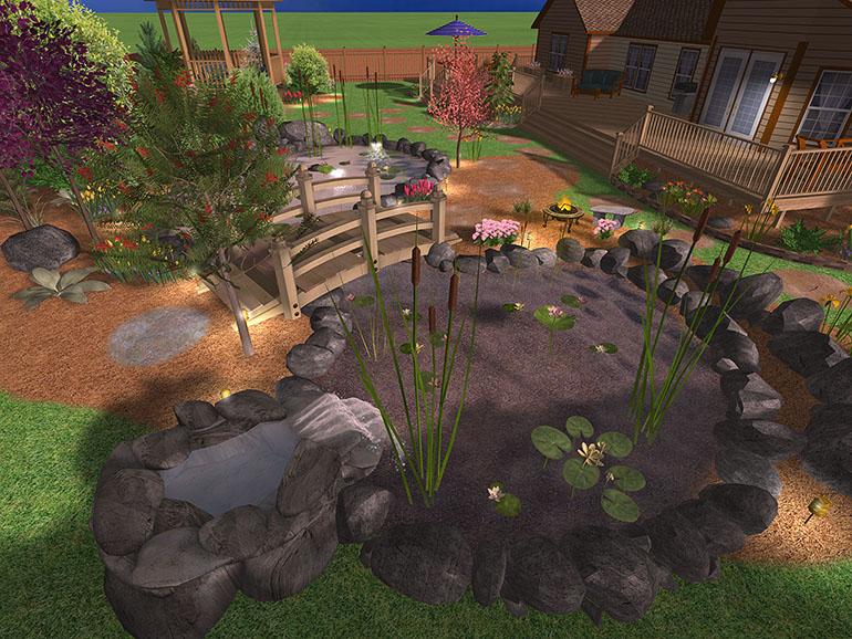 Realtime landscaping architect – программа для моделирования ландшафтного дизайна