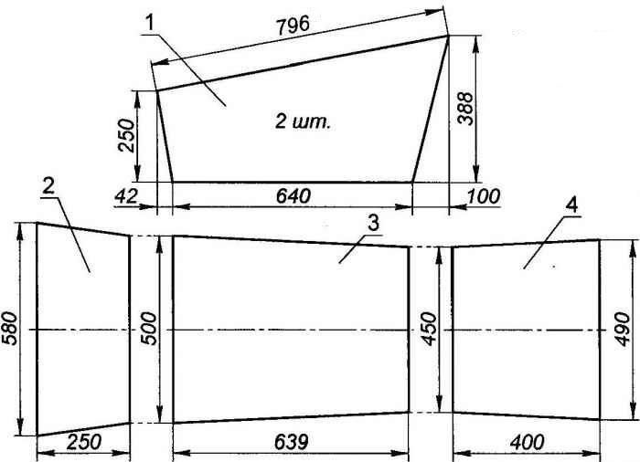 Четырёхколёсная тележка для перевозки грузов: разновидности тачек, созданных своими руками