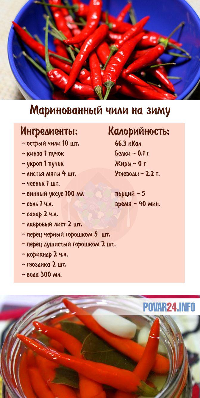 ТОП 15 рецептов маринованного острого перца в домашних условиях
