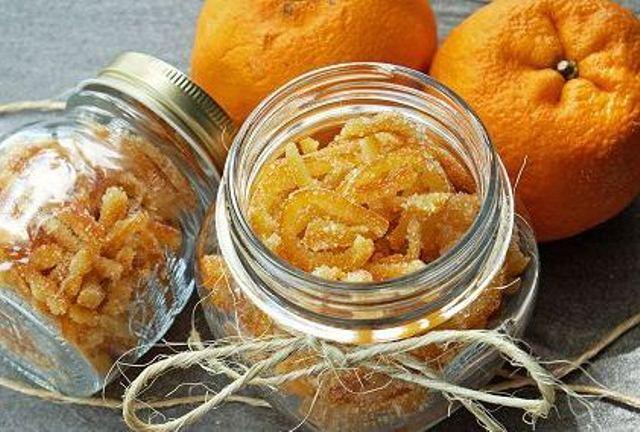 Цукаты из апельсиновых и мандариновых корок   страна мастеров