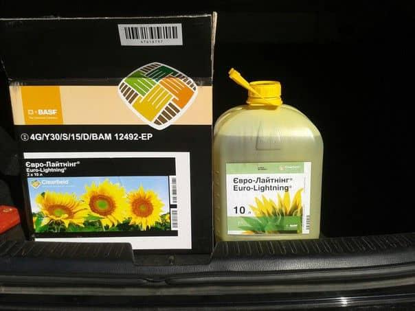 Описание и инструкция по применению гербицида евролайтинг, последействие