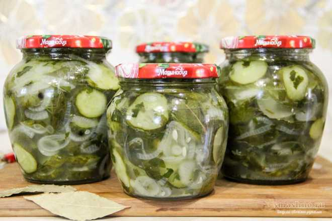 Салат из огурцов с луком на зиму - похрустим? рецепт с фото и видео