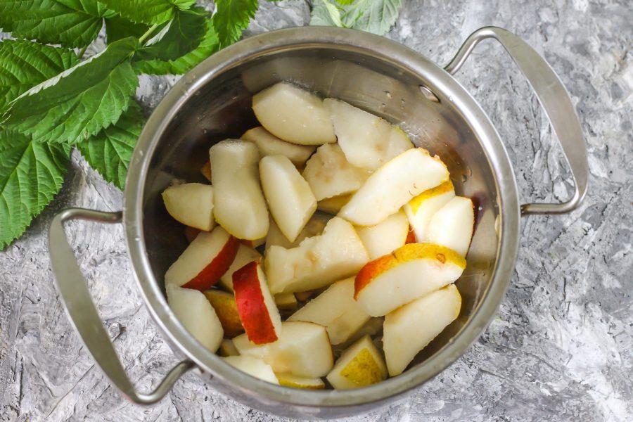 ᐉ компот из яблок и груш на зиму - рецепты приготовления, видео - my-na-dache.ru