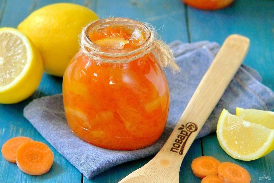 Варенье из моркови на зиму простой рецепт - ogorod.guru