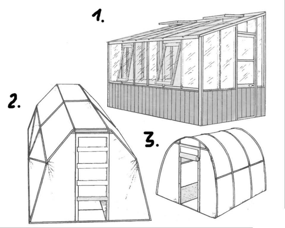 Теплицы из поликарбоната своими руками чертежи фото: парники и размеры, как сделать видео 3х6, зимние скачать