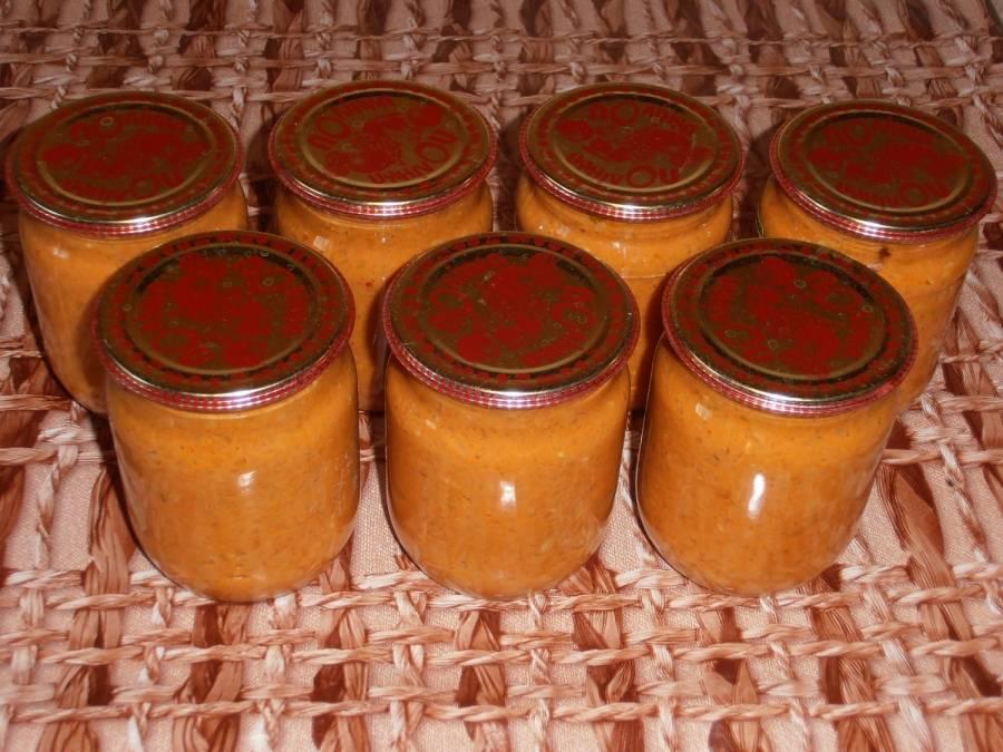 Кабачковая икра на зиму пошаговый рецепт