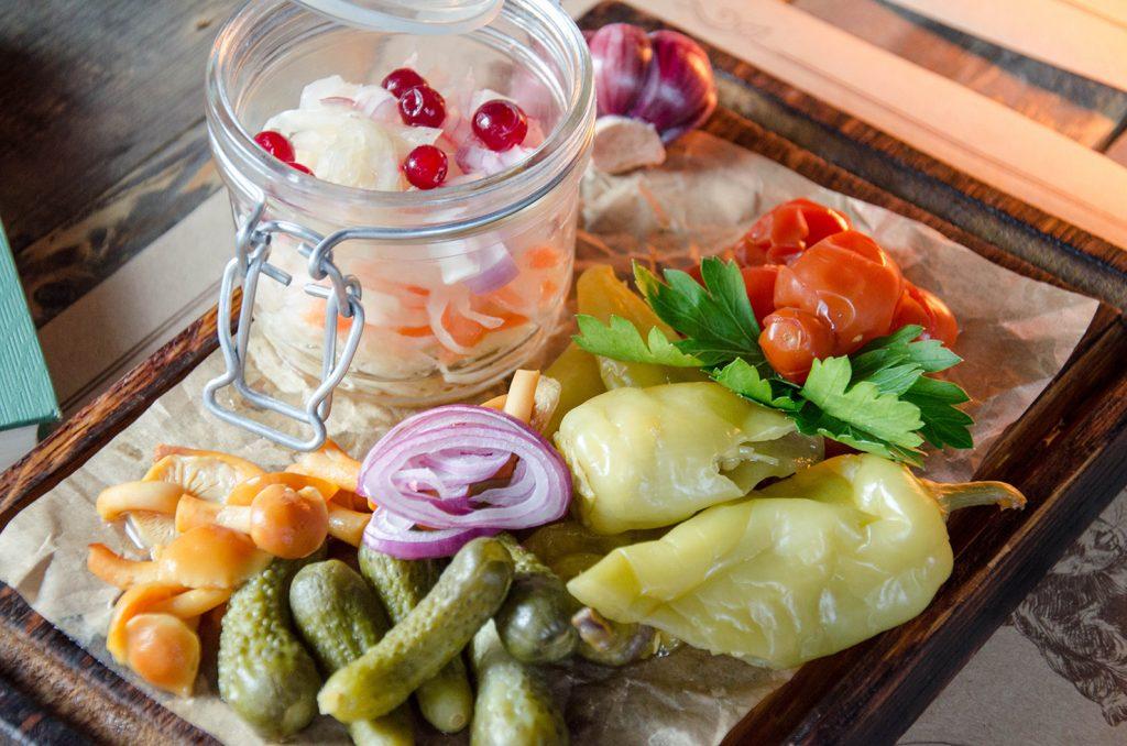 Заготовки с ингредиентом соления