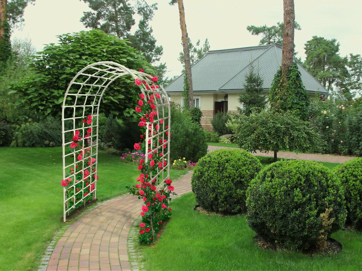 Арки для розы: выбор вида и особенности самостоятельного изготовления