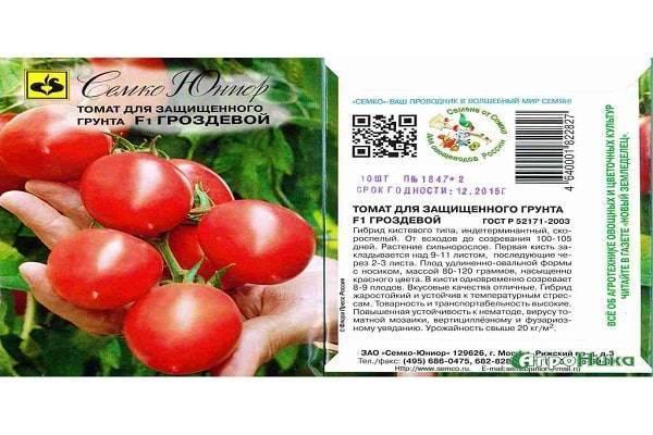 Томат гроздевой: описание, отзывы, фото, характеристика | tomatland.ru