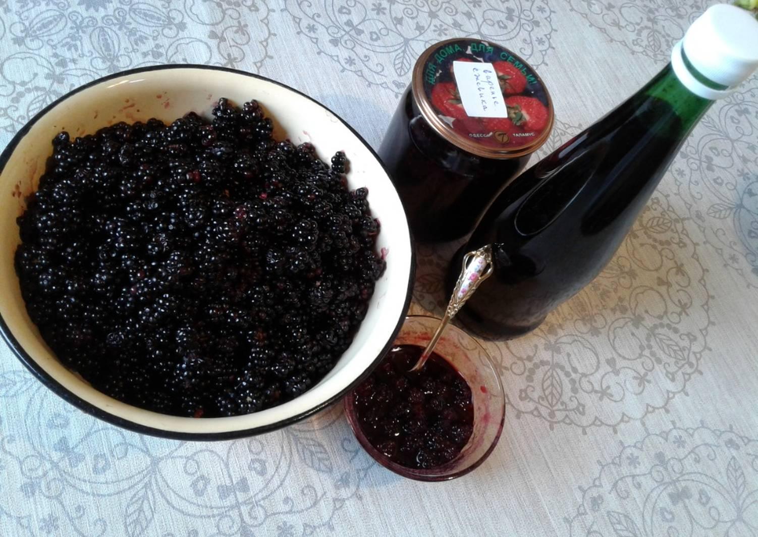 Простой рецепт приготовления варенья из ежевики на зиму
