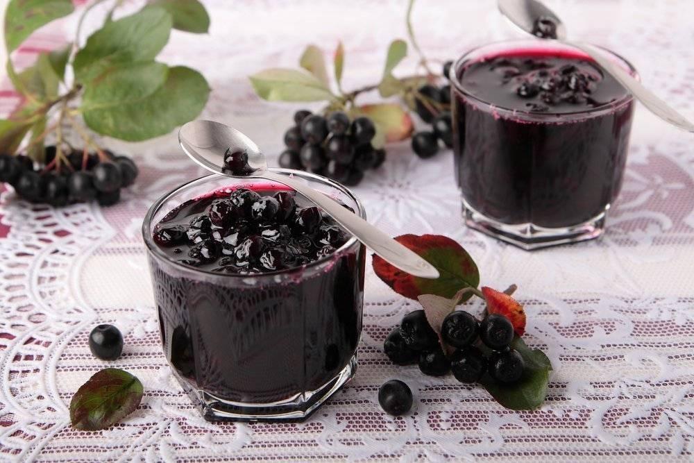 Черноплодная рябина: рецепты приготовления на зиму с пользой