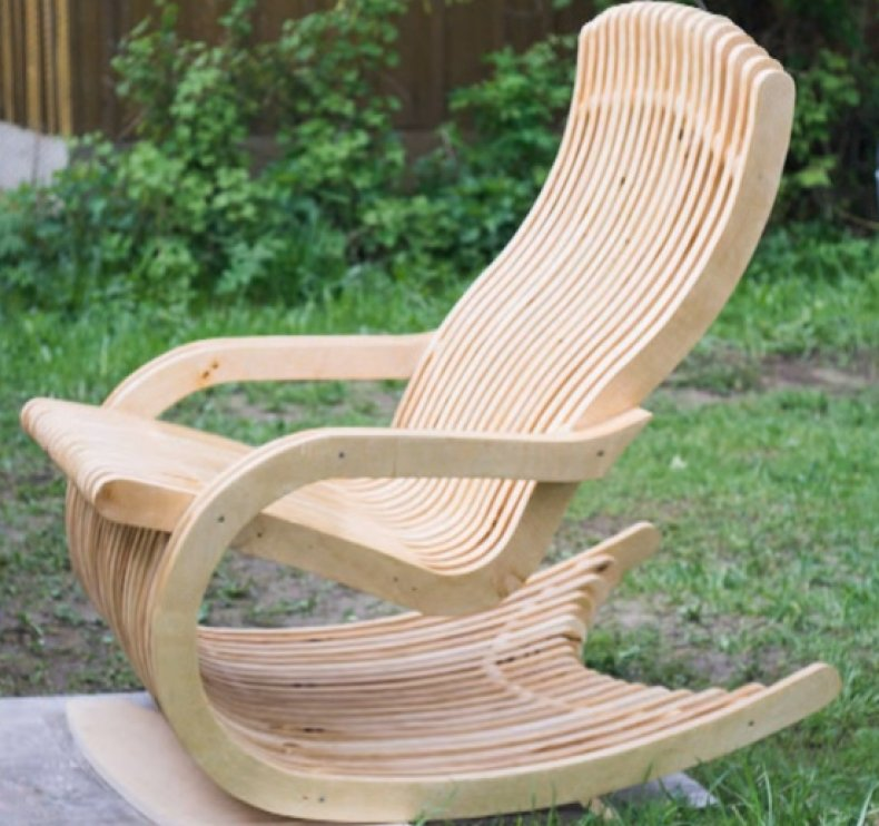 Как изготовить кресло качалку своими руками