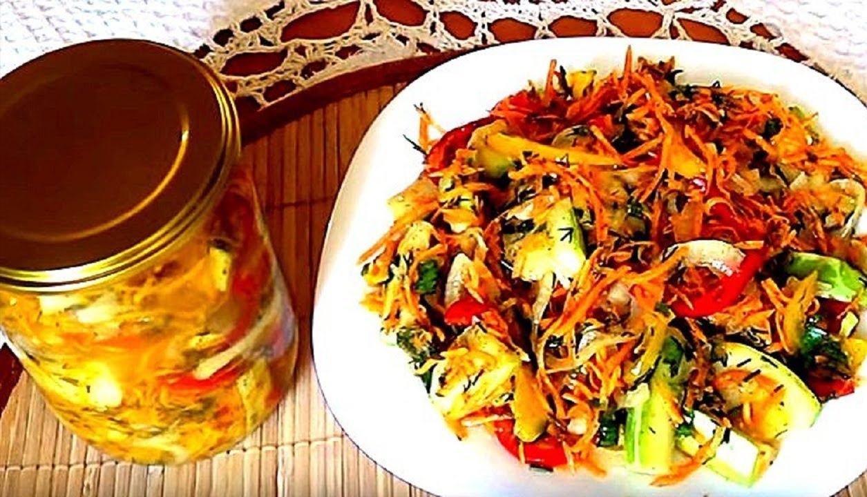 Кабачки по-корейски: самые вкусные рецепты на зиму