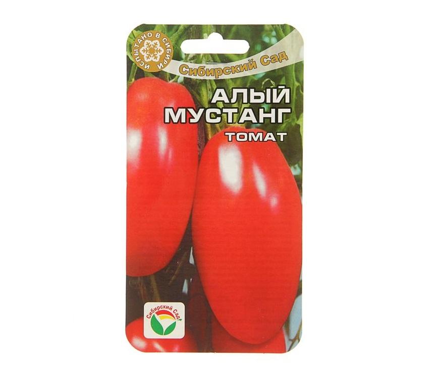 Томат алый мустанг: описание и характеристика сорта, фото, отзывы, урожайность