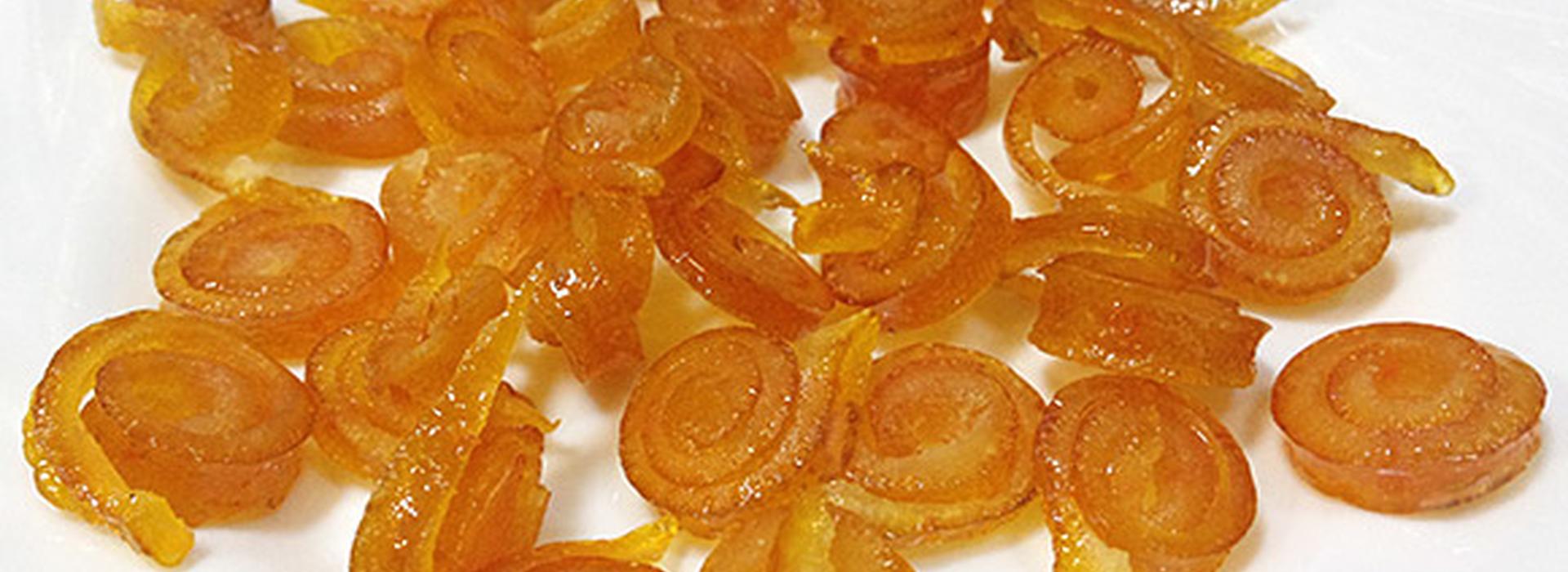 Апельсиновые цукаты- рецепты из плодов и корок