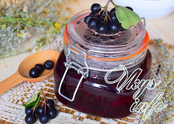 Очень вкусное варенье из черноплодной рябины— рецепт приготовления на зиму