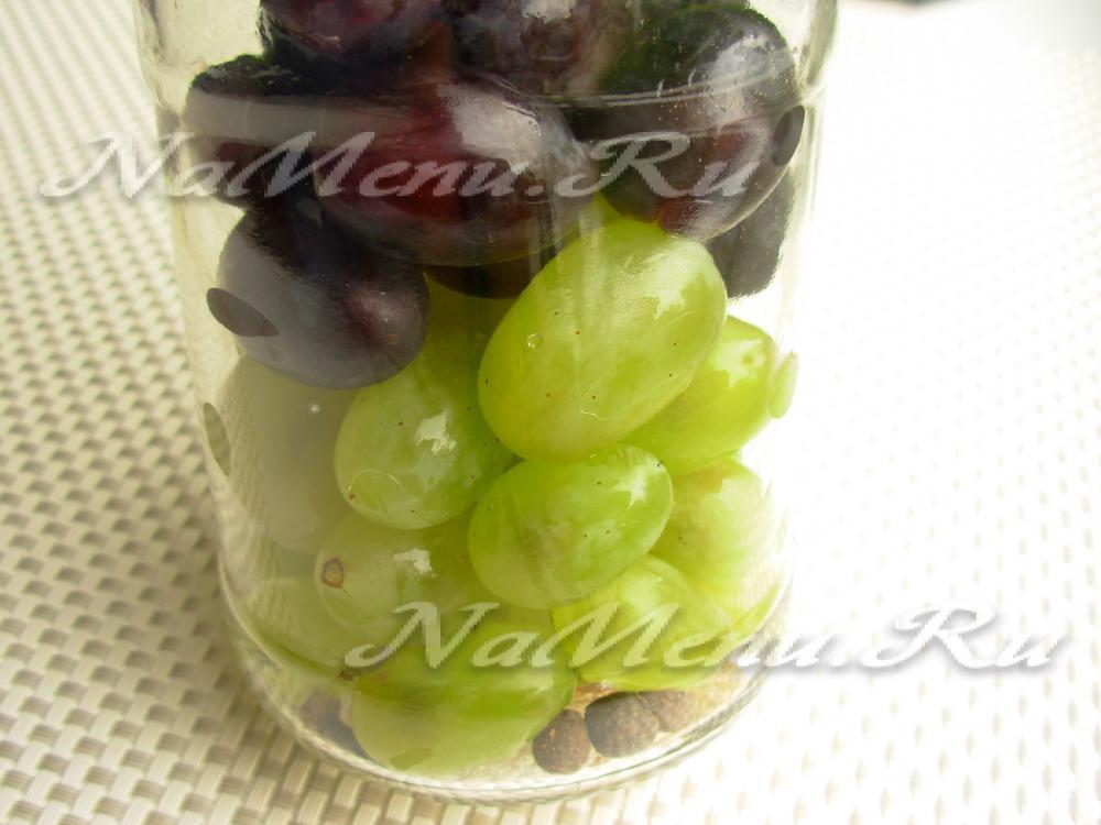 Консервированный виноград на зиму в домашних условиях: 6 лучших рецептов приготовления