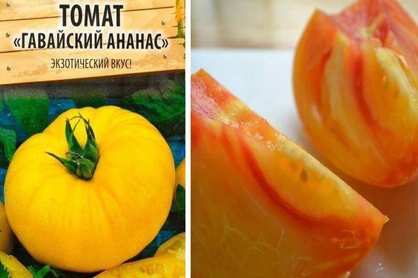 Описание томата Гавайский ананас, характеристики и правила выращивания в теплице