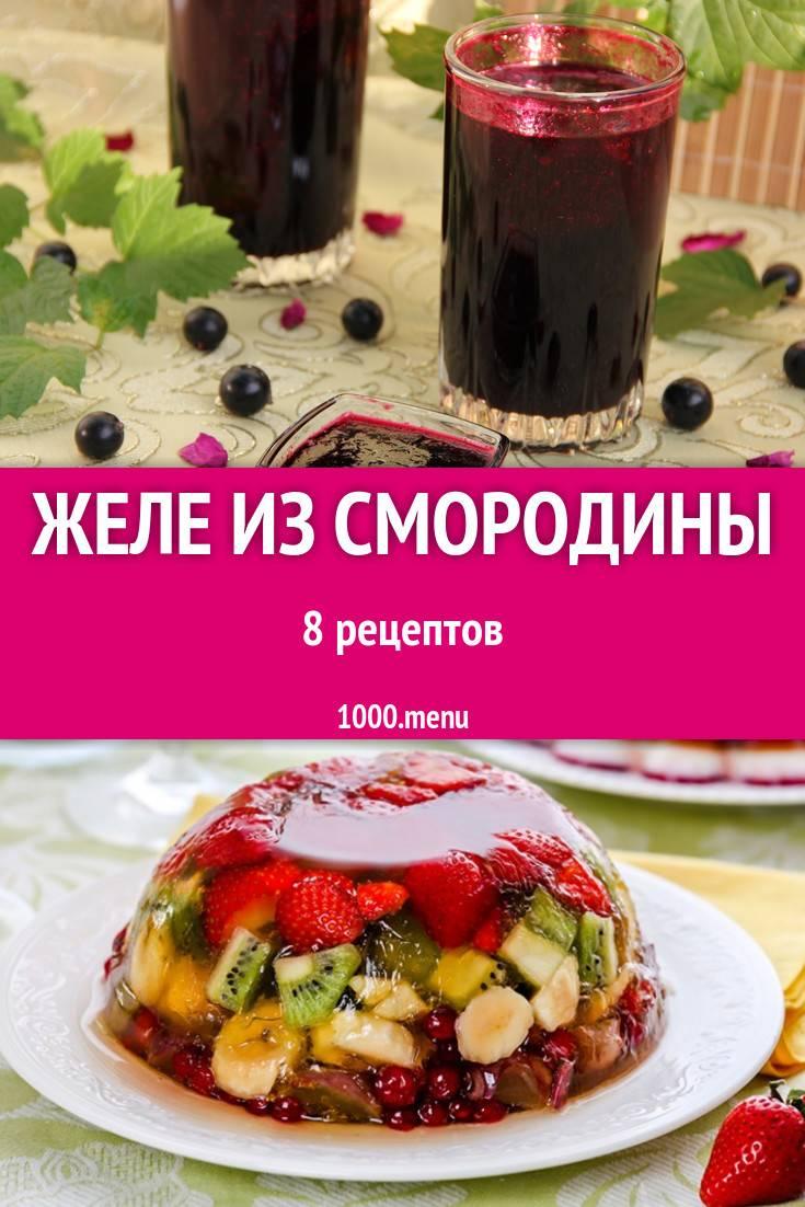 13 простых рецептов приготовления из черной смородины желе в домашних условиях на зиму