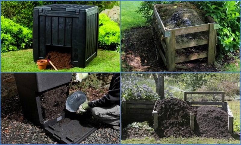 Компостная яма (ящик для компоста) своими руками: варианты изготовления, фото