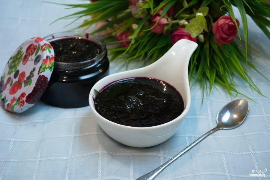 Варенье из черники пятиминутка на зиму: 10 простых рецептов с фото