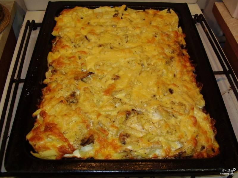 Картошка с фаршем в духовке – 10 рецептов приготовления с пошаговыми фото