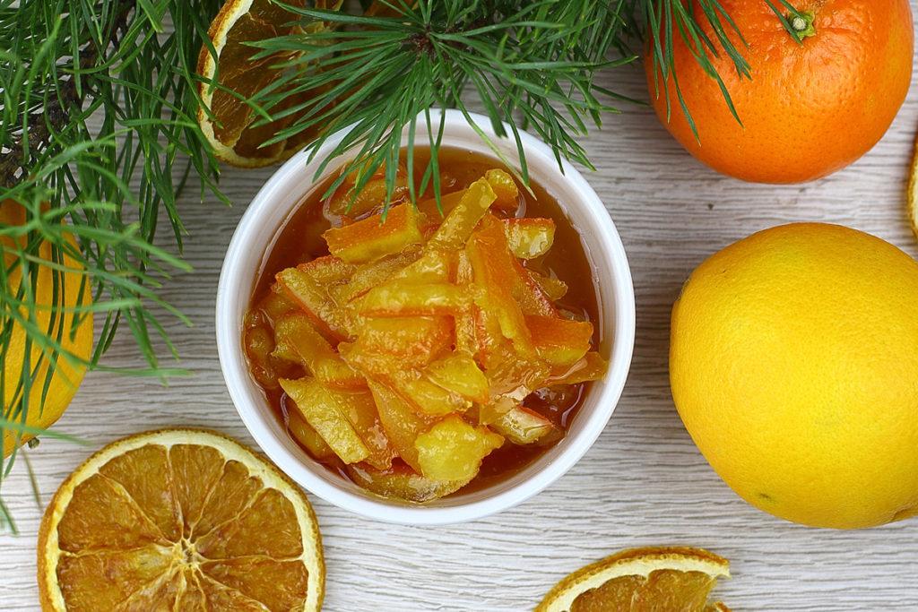 Джем из мандаринов пошаговый рецепт