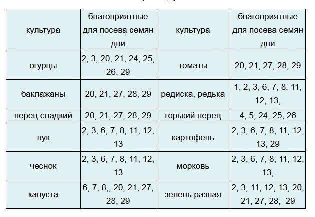 Выращивание огурцов по лунному календарю в 2021 году