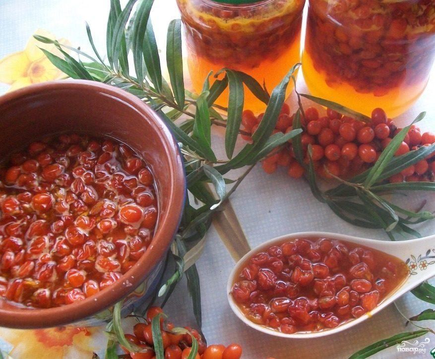 Способы и рецепты приготовления варенья из облепихи на зиму