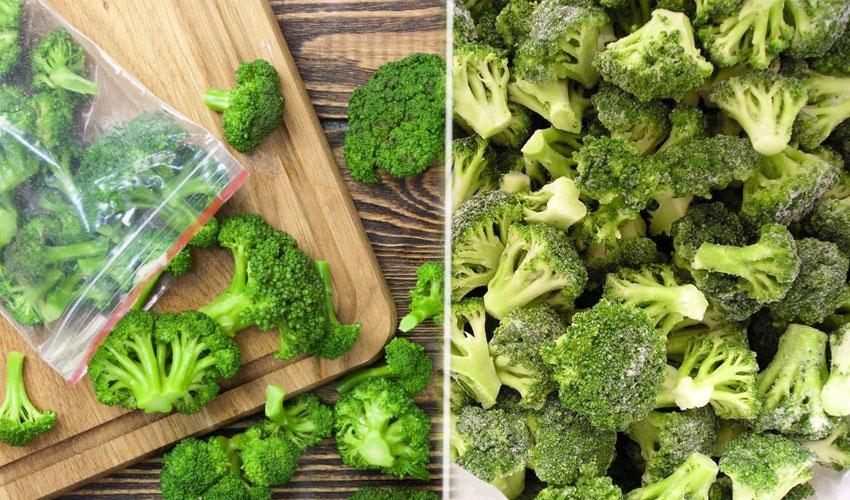 Как правильно заморозить капусту брокколи в домашних условиях на зиму в морозилке